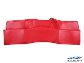 ハイエース 200系 標準ボディ S-GL専用 リアデッキカバー レッドレザー H16〜