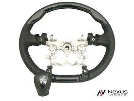 プリウス ZVW30系 ガングリップ タイプ ステアリング シフトノブ セット カーボン調 H21.5〜H27.12 2色展開