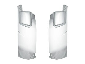 デュトロ エアループ 日野 標準キャブ用 メッキコーナーパネル 交換タイプ H23.7〜