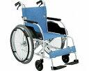 【送料無料】自走式 アルミ製スタンダード車椅子 ECO-201B/ 前座高43cm 座幅40cm E-2[ 株式会社 松永製作所 ]