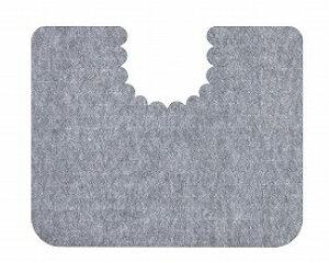 トイレ 床汚れ防止マット 5枚組/ KH-16 グレー[ 株式会社 サンコー ]