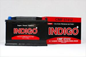インディゴバッテリー 欧州車用 CMF 57412 【57412】 欧州車用 BMW Mini R56