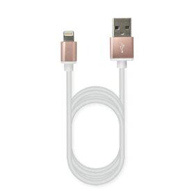 カシムラ USB充電&同期ケーブル 1.2m 2.4A LN RG-AL [KL-50] 【NF店】