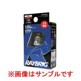 RAYBRIG レイブリック ハイパーLEDバルブ 12V 2.1W T16 6500K 品番:RF61 【NF店】