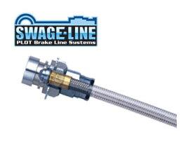 SWAGE-LINE スウェッジライン ブレーキホース ステンレス クリアホース クラウン/クラウンエステート GRS182 品番:SW2044 【NF店】