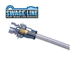 SWAGE-LINE スウェッジライン ブレーキホース スチール クリアホース スターレット EP82 品番:ST2003N 【NF店】