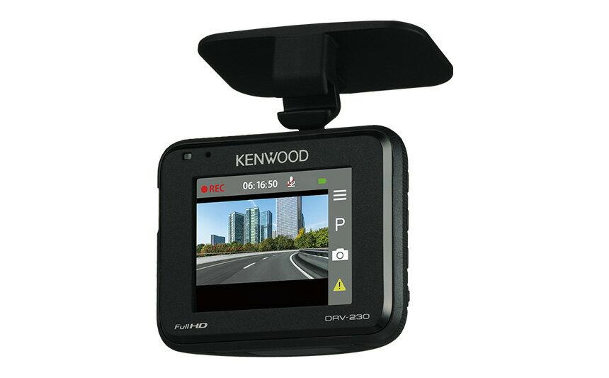 KENWOOD ケンウッド ドライブレコーダー DRV-230 microSDカード16GB付属