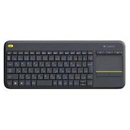 ☆ロジクール ワイヤレス タッチキーボード ブラック K400pBK