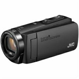 ☆JVCケンウッド ハイビジョンメモリービデオカメラ 「Everio(エブリオ) Rシリーズ」 64GB マットブラック GZ-RX680-B