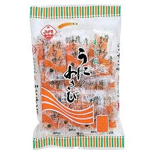 ●【送料無料】【代引不可】植垣米菓 こだわりの味 うにわさび 78g×12「他の商品と同梱不可/北海道、沖縄、離島別途送料」
