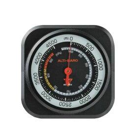 ●【送料無料】EMPEX(エンペックス気象計) アナログ高度・気圧計 アルティ・マックス4500 ブラック FG-5102「他の商品と同梱不可/北海道、沖縄、離島別途送料」
