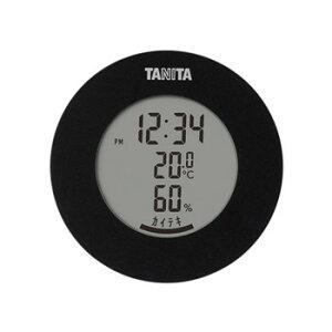 ●【送料無料】TANITA タニタ デジタル温湿度計 TT-585BK「他の商品と同梱不可/北海道、沖縄、離島別途送料」