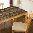 ●【送料無料】TABLECLOTH DECORATION テーブルデコレーション 貼る!テーブルシート 90cm×150cm オールドウッド…