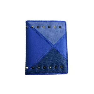 ●【送料無料】AWESOME(オーサム) パスポートケース アワーグラスシリーズ ブルー ASPC-HG04「他の商品と同梱不可/北海道、沖縄、離島別途送料」