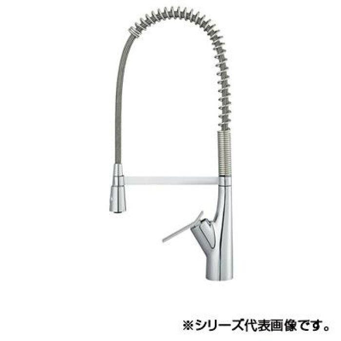 三栄SANEISUTTOシングルワンホールスプレー混合栓寒冷地用K8731JK-13