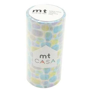 ●【送料無料】mt CASA マスキングテープ 100mm プール・ブルー MTCA1120「他の商品と同梱不可/北海道、沖縄、離島別途送料」