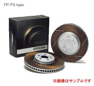 DIXCEL ディクセル ブレーキローター FP フロント FP3617003Sスバル インプレッサ WRX Sti GDB RA spec C (E〜G型) [Brembo] PCD:114.3 04/06〜07/11