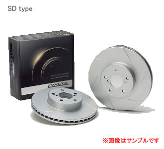 DIXCEL ディクセル ブレーキローター SD フロント SD3617001Sスバル インプレッサ WRX GDA NB-R (B型) 01/12〜02/10