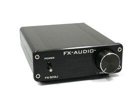 FX-AUDIO- FX-502J[ブラック] TPA3116搭載50W×2ch プリメインアンプ