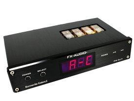 【送料無料】FX-AUDIO- PW-6J+[Bonneville Eaters II] 電子制御式 1:2アンプ/スピーカーセレクター[リモコン付属]