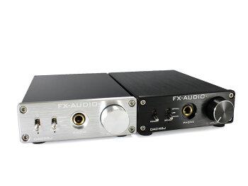 FX-AUDIO-DAC-X6J[ブラック]高性能ヘッドフォンアンプ搭載ハイレゾ対応DAC最大24bit192kHz