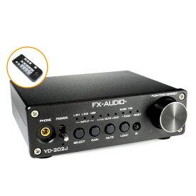 FX-AUDIO- YD-202J『ブラック』YDA138デジタルアンプIC搭載デュアルモノラル駆動式デジタルプリメインアンプ
