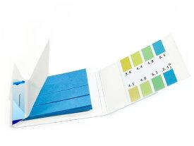 万能pH試験紙 1セット80枚入り [pH:3.8-5.4]酸性(0.3刻み)特定使用に特化した超精密タイプ!リトマス試験紙 より便利!