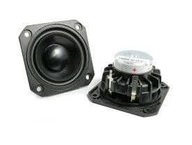 Peerless PLS-P830985 フルレンジスピーカーユニット2.5インチ(62mm) 4Ω/MAX60W [スピーカー自作/DIYオーディオ]