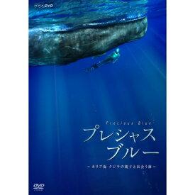 プレシャス・ブルー  カリブ海・クジラの親子と出会う旅 DVD