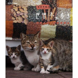 500円クーポン発行中!岩合光昭の世界ネコ歩き モロッコ・マラケシュ動物カメラマン・岩合光昭さんがかわいいネコたちをもとめて世界を歩きます。【楽ギフ_包装選択】
