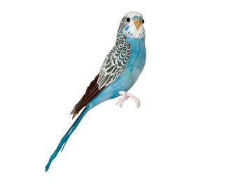 Budgie(Blue)黄背綠鸚鵡藍色PUEBCO Artificial Birds puebukoatifisharubado 127071