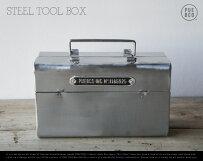 STEELTOOLBOX/スチールツールボックスPUEBCOプエブコ工具箱工具ケーススチール小物入れ