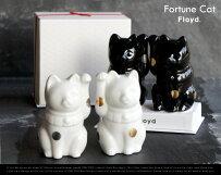 FortuneCat/フォーチュンキャットFloyd/フロイド招き猫猫開店祝い新築祝い御祝い縁起物置物