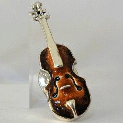 バイオリン(ヴァイオリン)ラペルピンサツルノ社イタリア製【あす楽対応】【送料無料】【ポイント10倍】