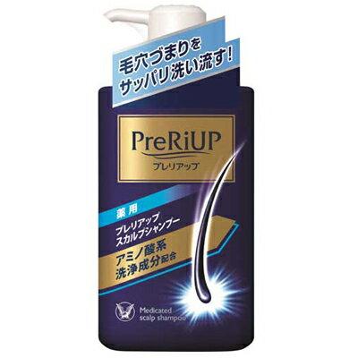 【大正製薬】薬用 プレリアップ スカルプシャンプー爽やかなシトラスミントの香り 本体 400ml【医薬部外品】