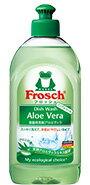 【フロッシュ(Frosch)】食器用洗剤 アロエベラ 300mlみずみずしいアロエヴェラの香り 汚れもスッキリ落とす天然アロエヴェラエキス配合低刺激性洗浄成分処方で手肌に優しいスタンダード洗剤