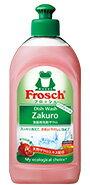 【フロッシュ(Frosch)】食器用洗剤 ザクロ 300ml甘くやさしいザクロの香り スッキリ洗えて手肌にやさしい天然ザクロエキス配合キッチンを明るく彩るミルキィピンクカラー