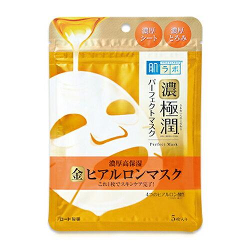 <お取り寄せ商品>◆新発売◆ 【ロート製薬】 肌研(ハダラボ)極潤パーフェクトマスク 5枚入 【化粧品】