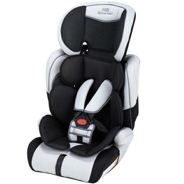 日本育児 ハイバックブースター EC2 Air アイスグレー1歳頃から12歳頃まで使えるチャイルドシート/ジュニアシート/カーシート/チャイルドシート/洗濯可能/通気性