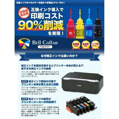 インクキャノンCANON互換BCI-7e互換インクカートリッジキャノン6色セットBKCMYPCPMプリンターインク3年保証ベルカラー製