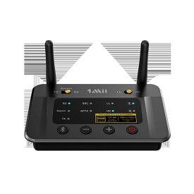 B03Pro ★2021年進化型★ 1Mii Bluetooth トランスミッター/レシーバー(送信機/受信機) DAC 2台同時送信 aptx ll 低遅延/aptx hd 高音質 イヤホン/ヘッドフォン/スピーカー/PC/テレビ用