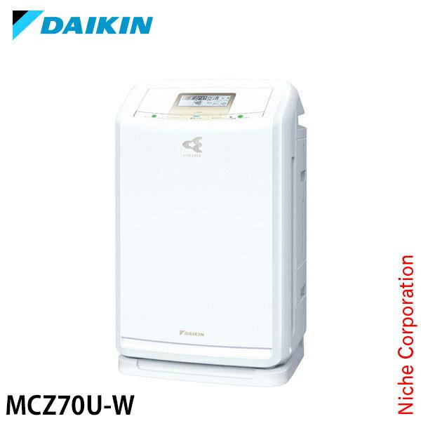 ダイキン 除加湿ストリーマ空気清浄機 クリアフォース ホワイト MCZ70U-W 除湿機能付