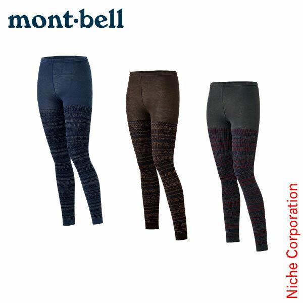 モンベル mont-bell ジャカードタイツ レディース [ 1107294 ][nocu]