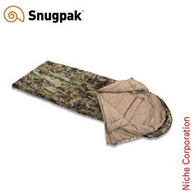 スナグパック ( Snugpak ) ノーチラス スクエア センタージップ テレインカモ [ SP92869TPC ] シュラフ 化繊 マミー型 nocu
