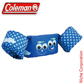 コールマン パドルジャンパー(ブルーベリー) 2000033965 キャンプ用品 浮き輪 うきわ 海水浴 プール 水着 子供 こども 子ども 春夏