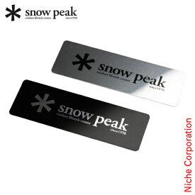 スノーピーク メタルロゴステッカーセット FES-036 キャンプ用品