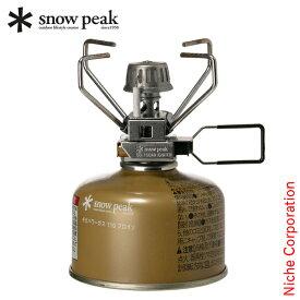スノーピーク バーナー ギガパワーストーブ 地 オート GS-100AR2 アウトドア 1バーナー キャンプ