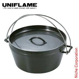 ユニフレーム クッカー UFダッチオーブン 12インチ キャンプ ダッジオーブン 鍋 ダッヂ アウトドア