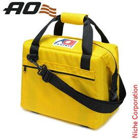 AOクーラーズ 12パック キャンバス ソフトクーラー USAモデル イエロー AO12YL キャンプ用品