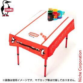 チャムス パーティーゲームテーブルクロス CH62-1419-Z145-00 ビアポン キャンプ用品